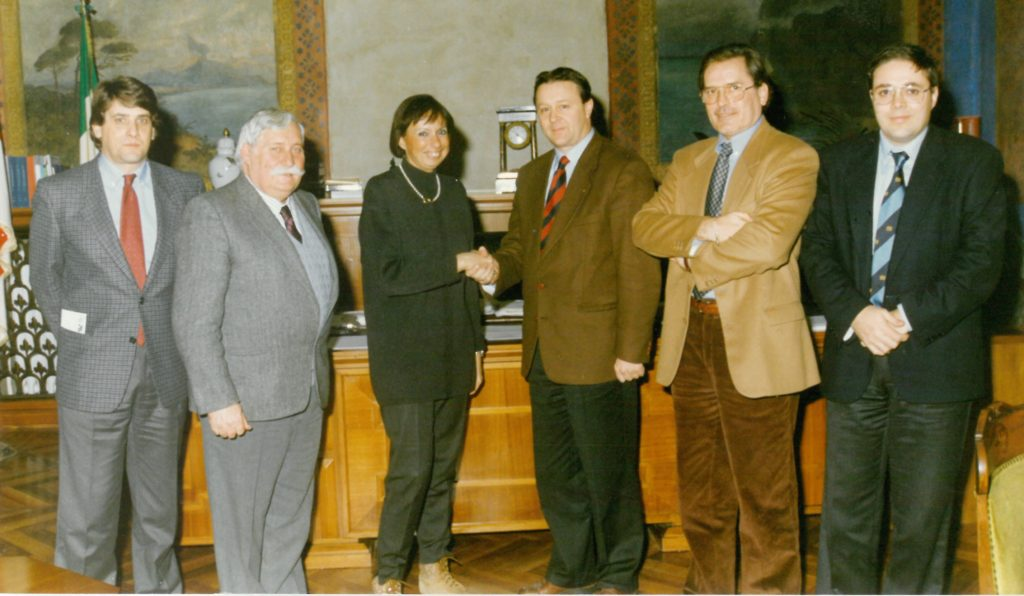 1997  Francesca Calvo Sindaco di Alessandria